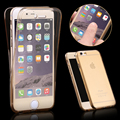 For iPhone 7 Fashion 360 Front Back full Coverage Transparent Clear TPU phone Case for iPhone