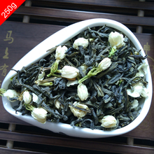 ShineTea 250g Chinese Organic Jasmine Flower Tea Green Tea Herbal Health Removing Tone Diet Lose Weight Slimming Tea Secret Gift(China (Mainland))
