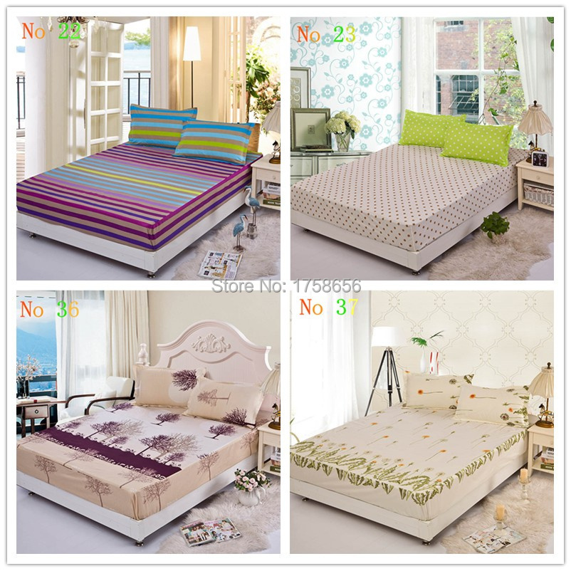 Family Soft Polyester Cotton Bedding Set Bed Mattress Cover Set For Bedroom Full Queen King