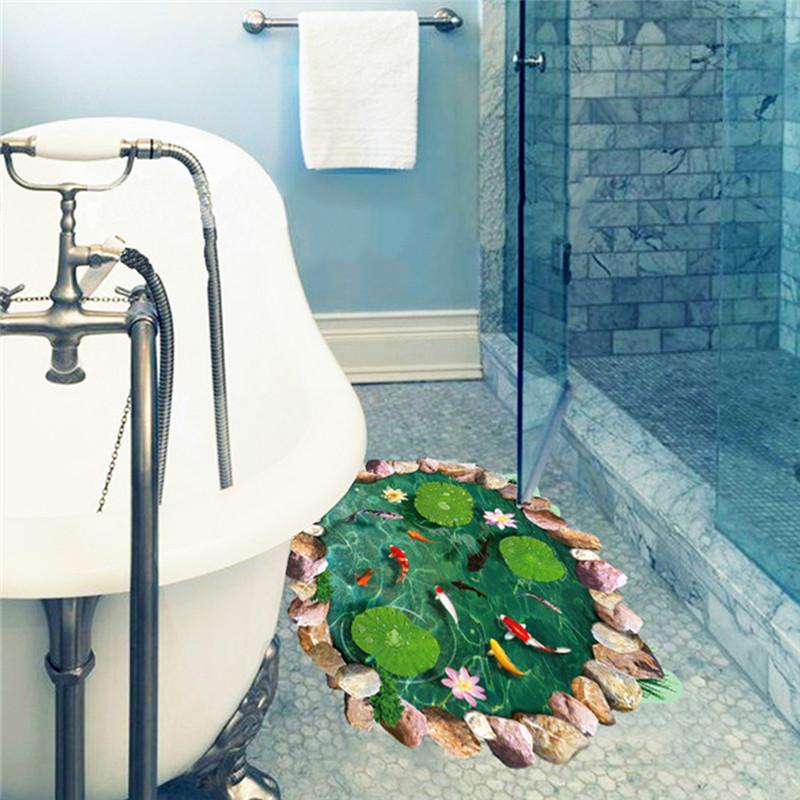 Dekor boden badezimmer for Pvc boden 3d