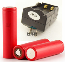 2 * Sanyo 18650 3400 мАч литий-ионный аккумулятор + 1 * зарядное устройство