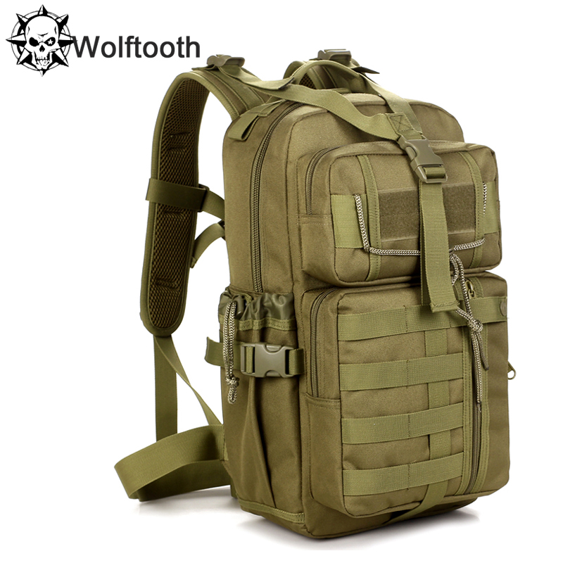 Outdoor Military Tactical Assault Backpack Molle System 3 Day Survival Bag SWAT Police Carry Rucksack 30L