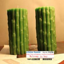 Высокая богатство бамбуковые свечи искусство свечи охраны окружающей среды