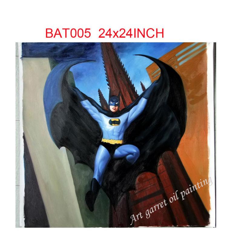 Comics al Oleo Mano de Pintura al óleo en