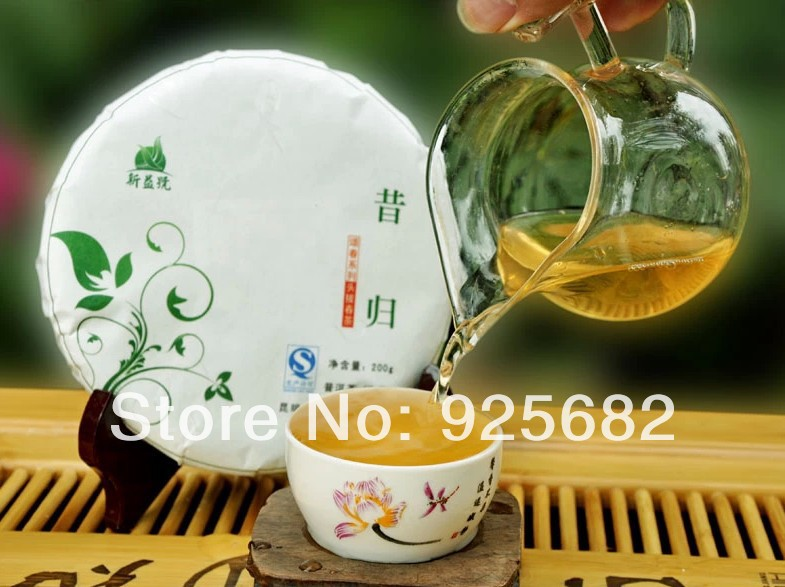 2014 yunnan xigui puer tea puer357g Chinese puerh cake health care products - nice time store