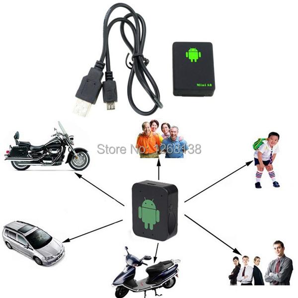 Mini Global Locator Real Time Car Kid Pet GPS Tracker GSM/GPRS/GPS Tracking Tool EQCh(China (Mainland))