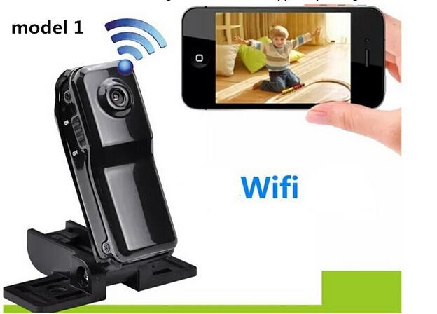 Spy WiFi camera Md81S camcorders cam MINI camcorder Wireless P2P Camera(China (Mainland))