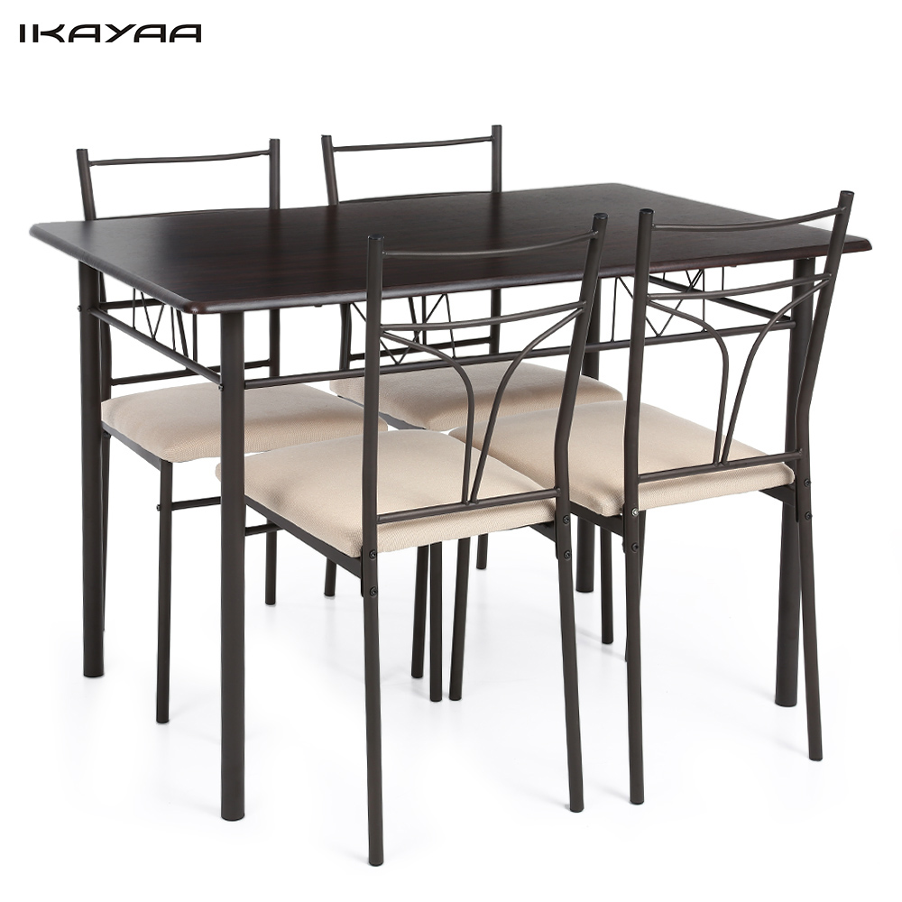 Popular country dining set buy cheap country dining set lots from china count - Table et chaise noir ...