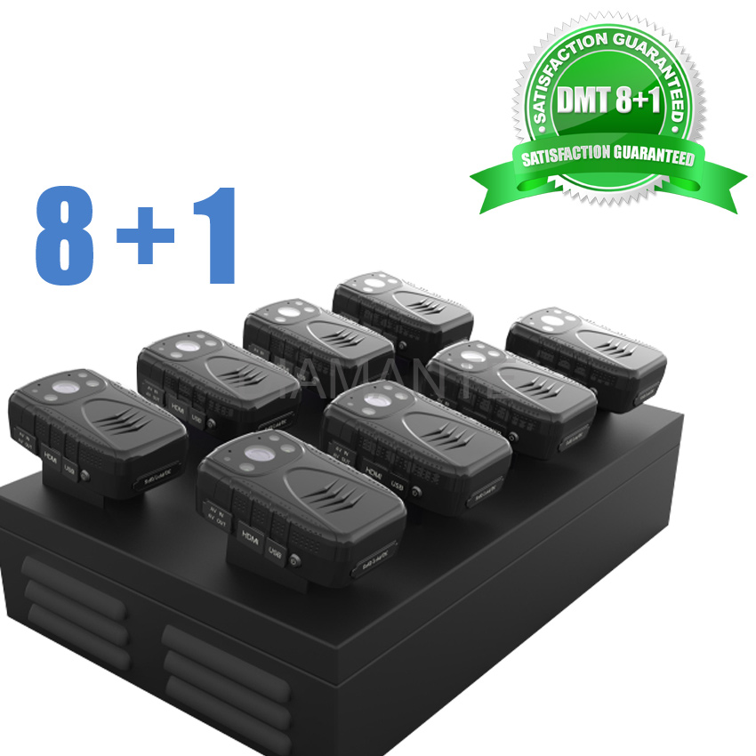 Diamante Kit 8pcs DMT1-32G and Docking Station Up to 8 Devices Connected to PC Police Camera Law Enforcement Kit(China (Mainland))