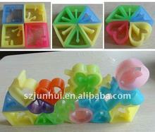 2016  rubber building block Novelty & Gag Toys FreeShipping(China (Mainland))