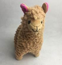 23 cm Lama Alpaca de Pelúcia Boneca de Brinquedo, Crianças Japonês Alpacasso Plush Macio Brinquedo de Presente de Aniversário de Natal(China)