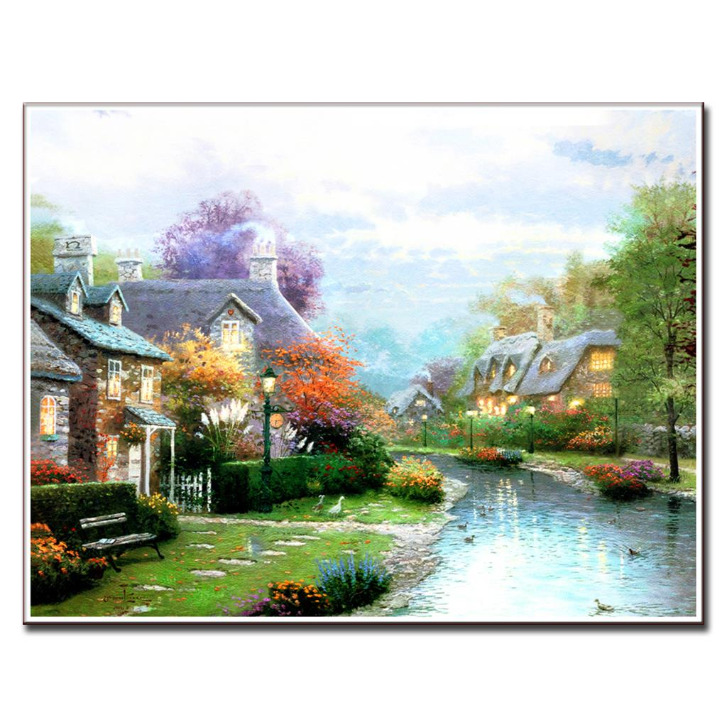 Aliexpress.com : Buy Modern Wall Painting Mediterranean ...
