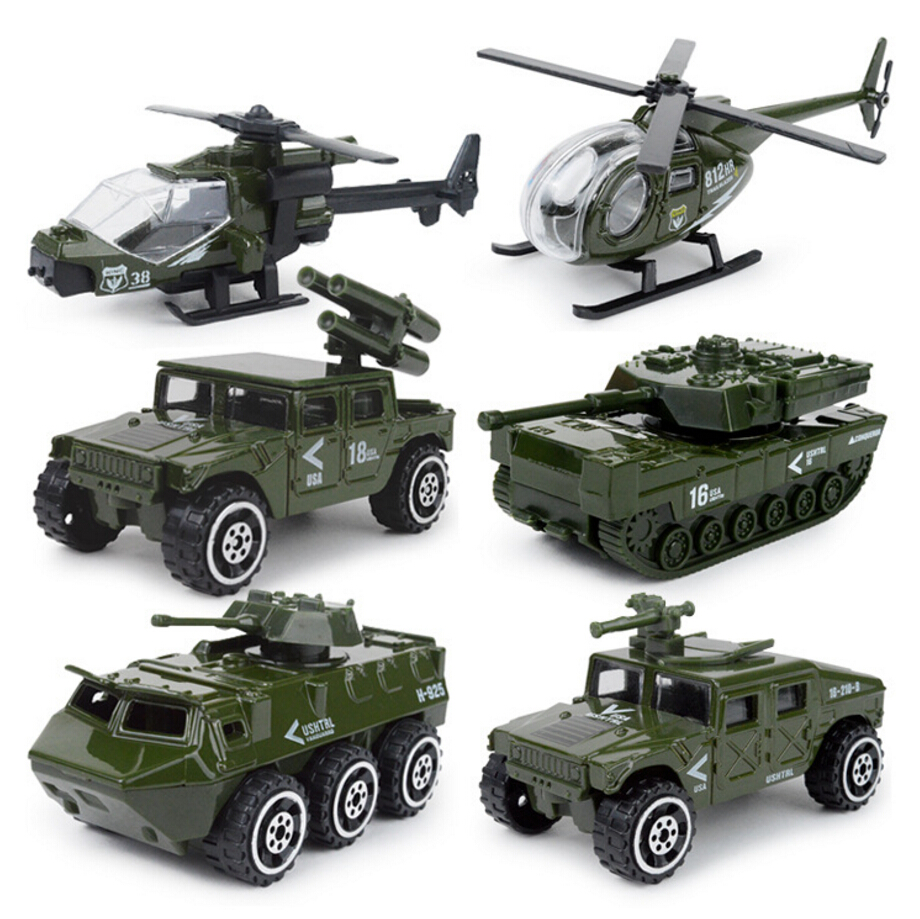 1:87 scale Modern military City police fire Vehicle diecast armor cars helicopter tank Jeep ladder truck metal model Collection(China (Mainland))