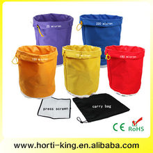 2015 High Quality 5 Gallon 5 bag kit Bubble Ice Bags Nylon Herbal Extraction Bags Waterproof Canvas Filter Bag(China (Mainland))