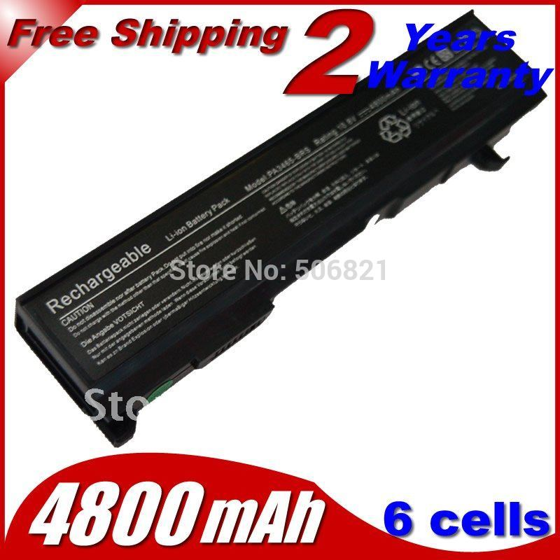 Laptop Battery PA3465U-1BRS PABAS069 For Toshiba Dynabook AX/55A dynabook TW/750LS Equium A100-549 M70-364 Satellite A100-259(China (Mainland))