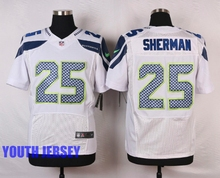 Stitiched,Seattle Seahawks,Kam Chancellor,Luke Willson,Richard Sherman,Doug Baldwin,Jimmy Graham,Jimmy Graham.for youth,kids(China (Mainland))
