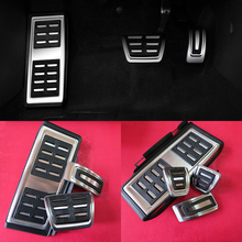 Buy Car Accessories VW Volkswagen New Tiguan 2017 AT/MT Accelerator Brake Clutch Footrest Pedal Pad,Styling Modify Plate Sticker for $30.49 in AliExpress store