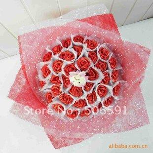 Wedding Bouquets Bridal Bouquet Artificial Flower High Simulation Silk