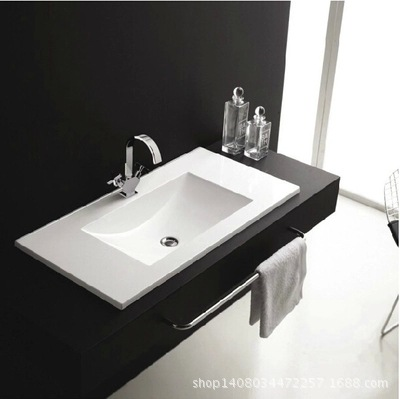 Thin Sink : Factory outlet of Chaozhou ceramic slim wash basin sink ceramic thin ...