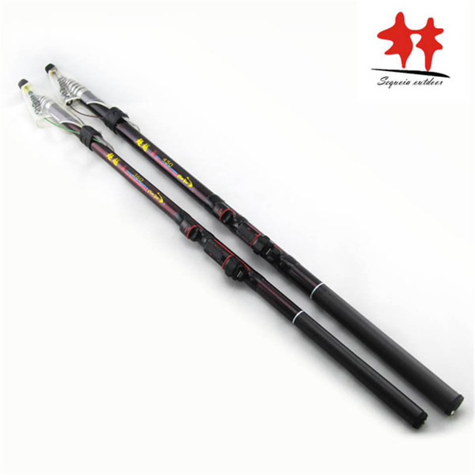 Exceed surf casting rod telescopic carbon fishing rod for Light fishing rods