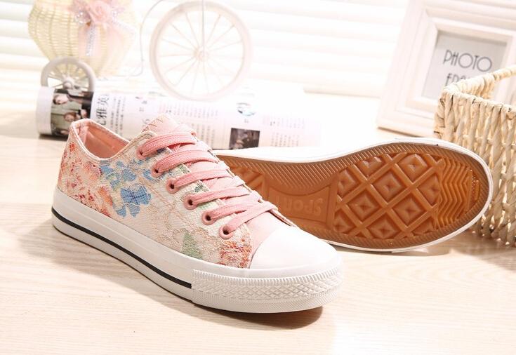 Crochet Running Shoes