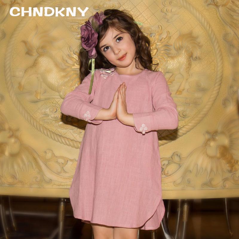 Baby Girl Spring Summer Dress 2016 new Brand Girls Fashion Solid Party Dress Children Birthday Princess Dress Kids Clothing(China (Mainland))