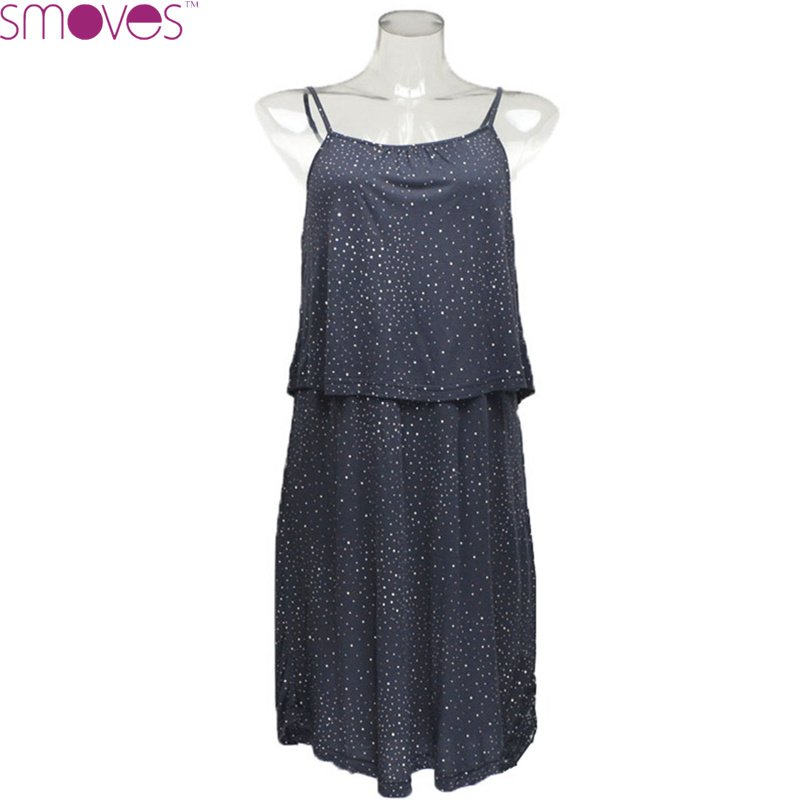 GD303 Woman Polka Dots Galaxy Print Double Layer Ruffled Lycra Modal Casual A-Line Skater Dress(China (Mainland))