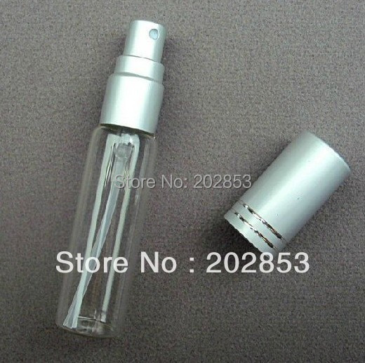 5 10ml Perfume Sprayer ,Perfume Atomizer Glass Empty Bottle Spray