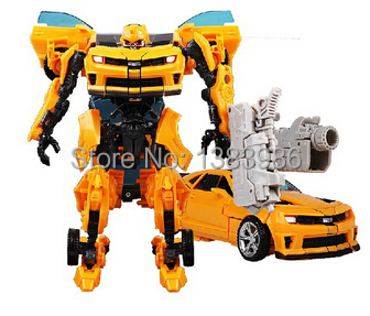 Newest Design Hobbies Classic Toys 3C Domestic Voyager Transformation Bumblebee Robot Cars Model Boy's Birthday Gift with Box(China (Mainland))