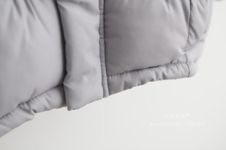 Скидки на 016 Детей Верхняя Одежда Новорожденных Девочек Хлопка С Капюшоном Пальто Зимняя Куртка Дети Пальто детская Зимняя Одежда для Девочек Парки