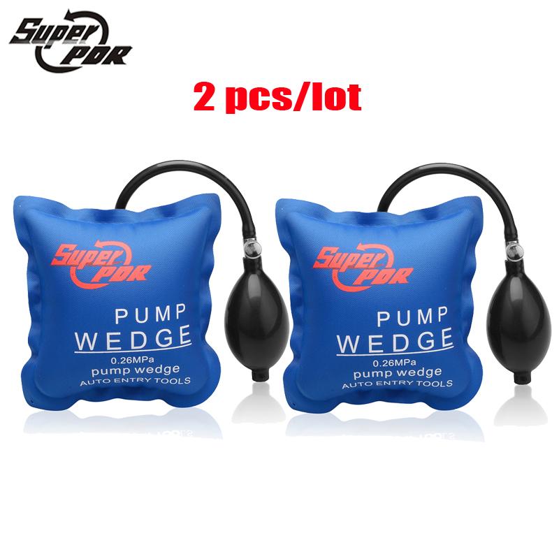 PDR Pump Wedge Locksmith Tools Auto Air Wedge Airbag Lock Pick Set Open Car Door Lock Opening Tools Size16.8*15.8cm 2 pcs/lot(China (Mainland))
