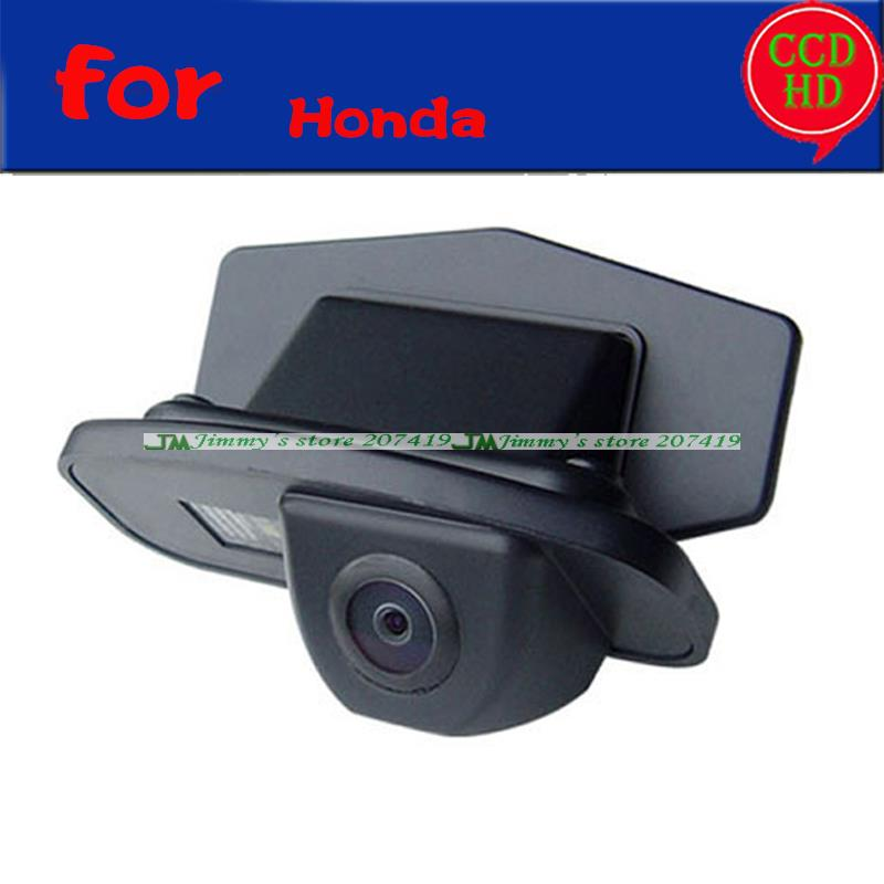 for sony CCD Car Rear Camera for Honda CRV 2009 2010 Odyssey Fit Crosstour Reverse Reversing Backup Parking Kit wire wireless(China (Mainland))