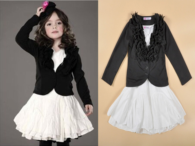 Girls Dress Jacket - Coat Nj