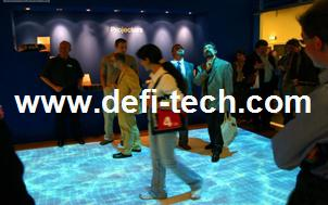 DEFI interactive floor/wall system with $200, Professional Interactive floor projection system for Advertising(China (Mainland))