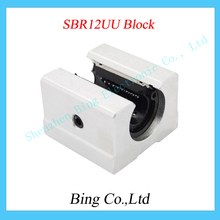 3d printer SBR12UU 12mm Linear Ball Bearing Block CNC Router SBR12 linear guide for 3d printer