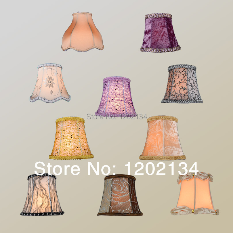 20styles quality fashion wall lamp Table light crystal pendant light candle bulb lamp cover Chandeliers lampshade free shipping(China (Mainland))