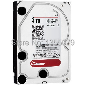 "Red 4 TB,Internal,8.89 cm (3.5"") WD40EFRX Hard Drive NEW(China (Mainland))"