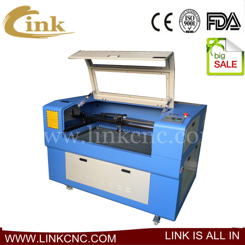 Direct sales!! portable laser cutting machine 80w Unique Link LXJ9060 machine engraving laser(China (Mainland))