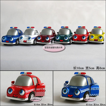 baby toy Car rotating eye alloy car model free air mail