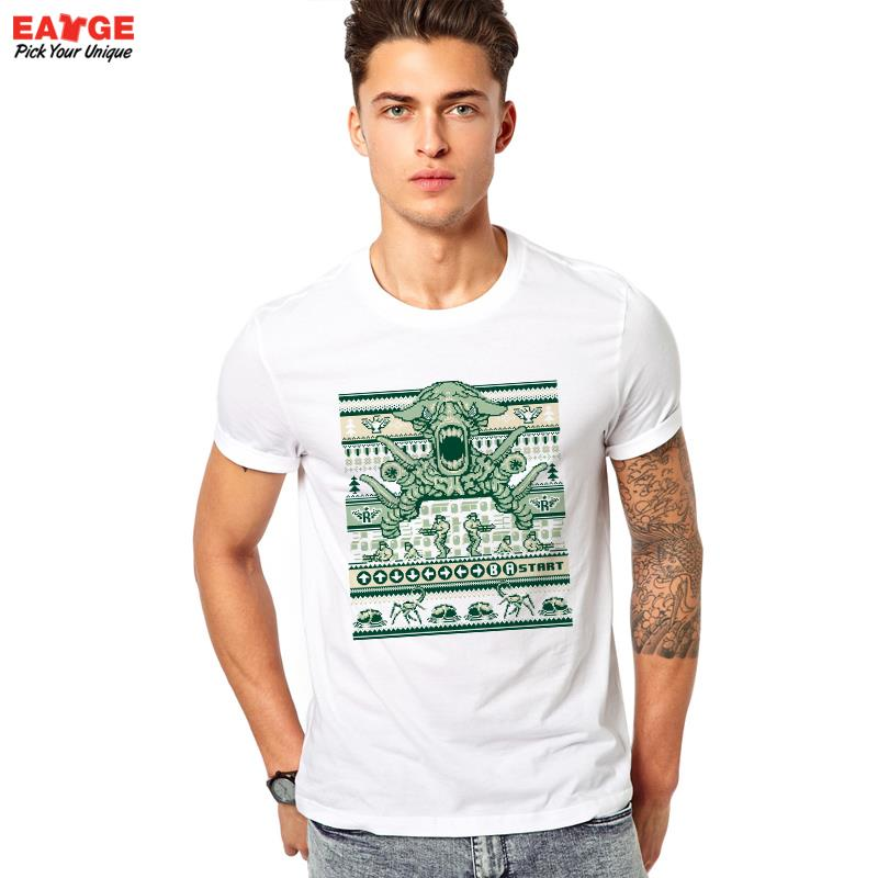 [MASCUBE]Men Women Tee Contra Bit Paint T Shirt Creative Design Nostalgic Video Game T-shirt Casual Novelty tshirt Top(China (Mainland))
