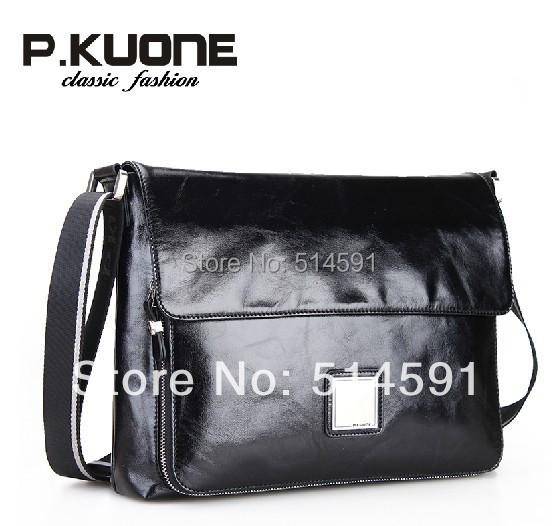 Promotion! 2015 Brand New Luxury Casual Men Messenger Bags Fashion High Quality Genuine Leather Bags For Men Shoulder Bag(China (Mainland))