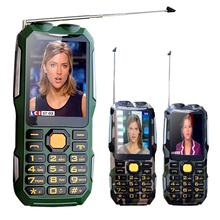 MAFAM D2016 Двойной фонарик FM волшебный голос 13800 мАч mp3 mp4 power bank Антенн Аналогового ТВ Прочный мобильный телефон сотовый P242(China (Mainland))