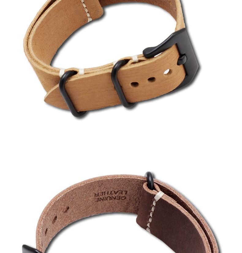 Кожаный ремешок для часов цепь утолщение адаптер sterculia PAM111 часы 24 мм часы фитинги мягкий