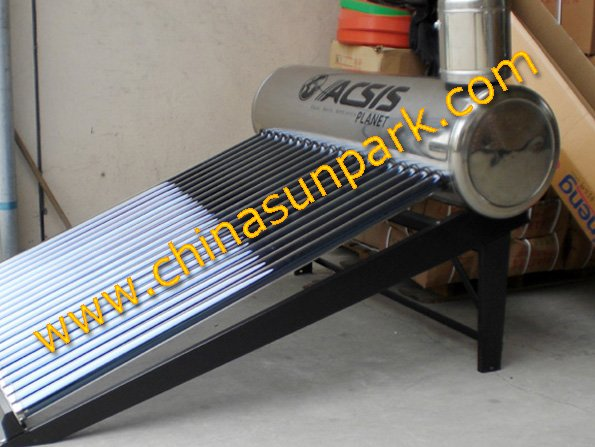 Non pressure+LOGO free+Sold to 56 countries+Vacuum tubes solar hot water heater(China (Mainland))