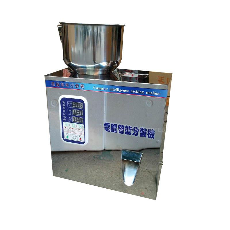 Free ship by DHL 1PCS 1-50g tea Packaging machine filling machine granule medlar automatic weighing machine powder filler(China (Mainland))