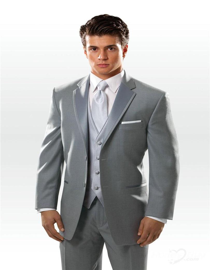 Top 10 Wedding Men Suits Winter 2018  JYDress Mens 2Piece Groom Suit White One Button Tuxedo