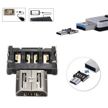 New Micro USB Male To USB Female OTG Adapter Converter For Android Tablet Phone  7BI2(China (Mainland))