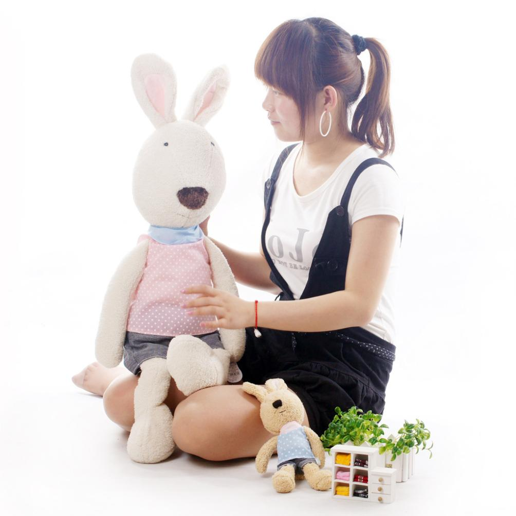 SG303 1pcs 18cm genuine security lesucre sugar rabbit doll plush toys manufacturers and wholesale(China (Mainland))
