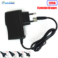 1pcs Power Supply Adapter AC110v 220V to DC 12V 1A IC protect EU AU US UK