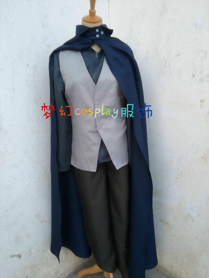 2016 Naruto the Movie Uchiha Sasuke Cosplay Costume(China (Mainland))
